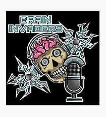 Brain Invaders Photographic Print