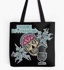 Brain Invaders Tote Bag