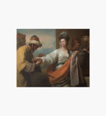 Isaac's Servant Tying the Bracelet on Rebecca's Arm 1775 Benjamin West Art Board