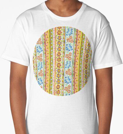 Parterre Botanique Vertical Long T-Shirt
