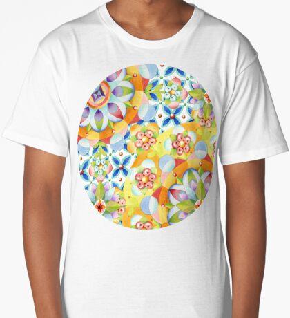Byzantine Heraldic (asymmetric) Long T-Shirt