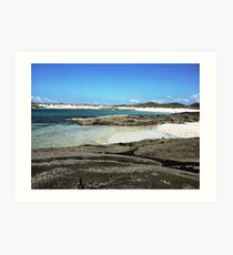 Sanna Beach No.2 Art Print