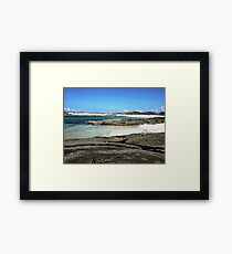 Sanna Beach No.2 Framed Print