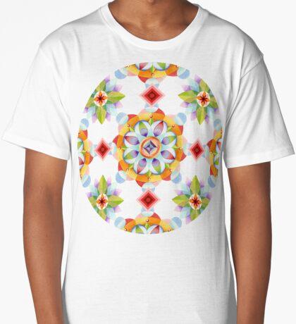 Beaux Arts Mandala Long T-Shirt