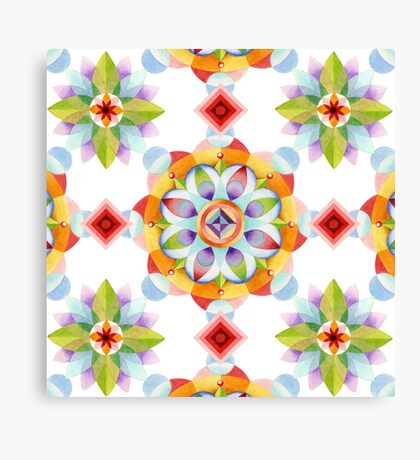 Beaux Arts Mandala Canvas Print