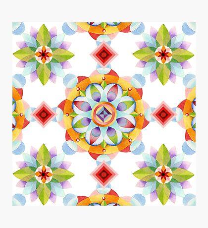 Beaux Arts Mandala Photographic Print