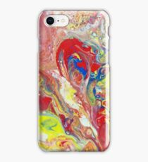 Organic Primary Red 04 iPhone Case/Skin