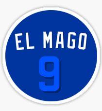 """Javy Baez """"El Mago"""" Spieler Wochenende Sticker"""