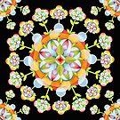 Jaipur Blossom Mandala by PatriciaSheaArt