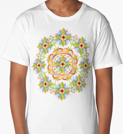 Starflower Blossoms Long T-Shirt