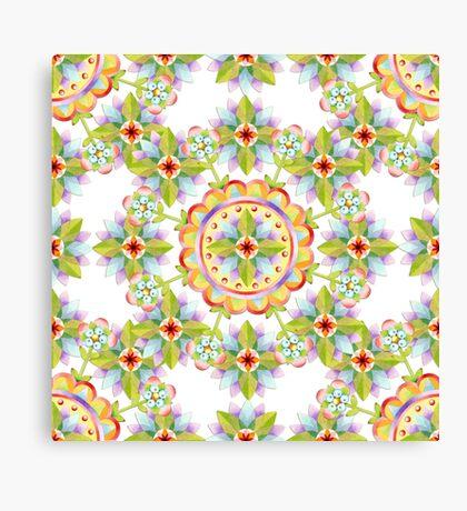 Starflower Blossoms Canvas Print