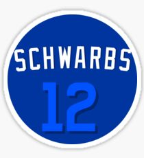 "Kyle Schwarber ""Schwarbs"" Players Weekend Sticker"