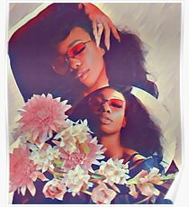 SZA // FLOWERS Poster