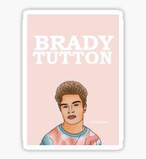 Brady Tutton Design Sticker