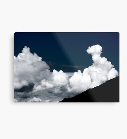 behind the clouds IV Metal Print
