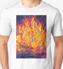 Fire and Passion - Here's to New Beginnings Unisex T-Shirt
