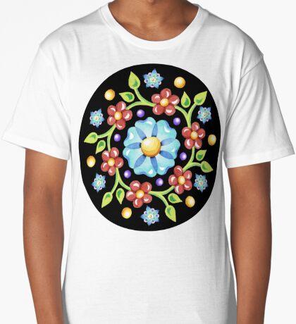 Millefiori Pinwheel Long T-Shirt