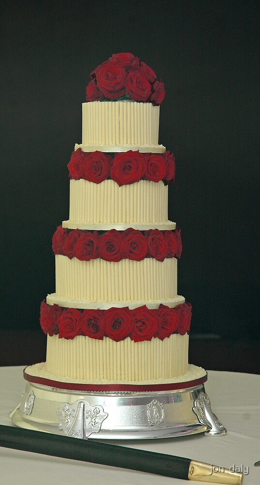 wedding cake by jon  daly