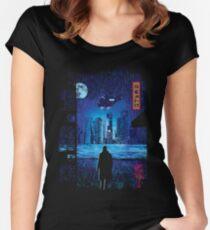 2049 Tailliertes Rundhals-Shirt