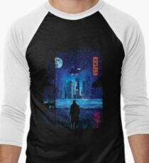 2049 Men's Baseball ¾ T-Shirt