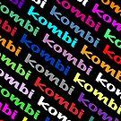 Kombi Kombi Kombi - on Black by melodyart
