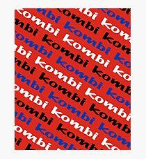 Kombi Kombi Kombi - RED Photographic Print