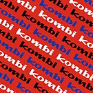 Kombi Kombi Kombi - RED by melodyart