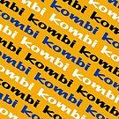 Kombi Kombi Kombi - Yellow by melodyart