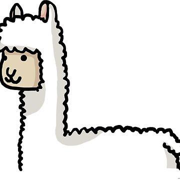 Cute Llama by Kito26