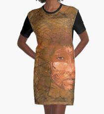 Serene warrior Graphic T-Shirt Dress