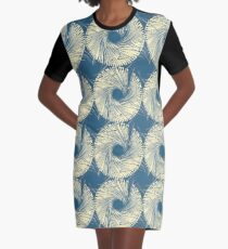 Spinning The Yarn Graphic T-Shirt Dress