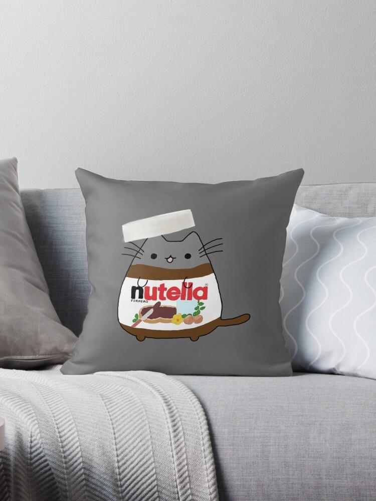 Nutella Cat by jessmoorexx