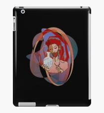 Red, the engraver iPad Case/Skin