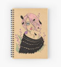 Changeling Girl Spiral Notebook
