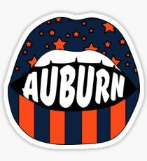 Auburn Lips Sticker