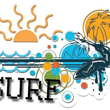 Gone Surfing by Delights