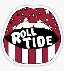 Roll Tide Lips Sticker
