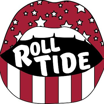 Roll Tide Lips by stickybad