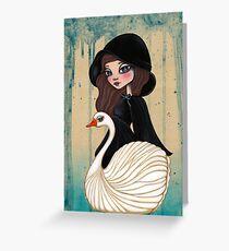 SwanSong Greeting Card
