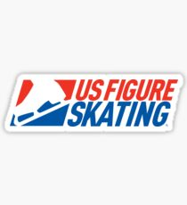 US Figure Skating Sticker Sticker