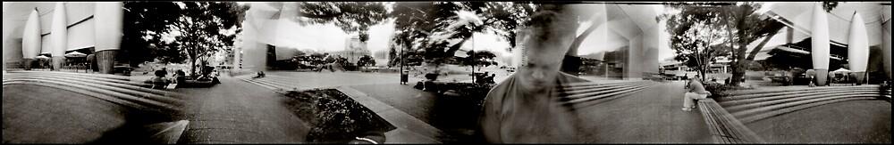 Aotea Square 360 degree pinhole image by gldfshbob