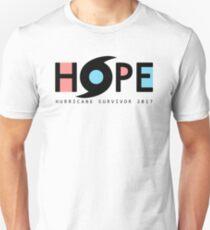 HOPE Hurricane Survivor 2017 Unisex T-Shirt