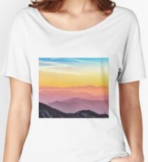 Pastel skies Women's Relaxed Fit T-Shirt