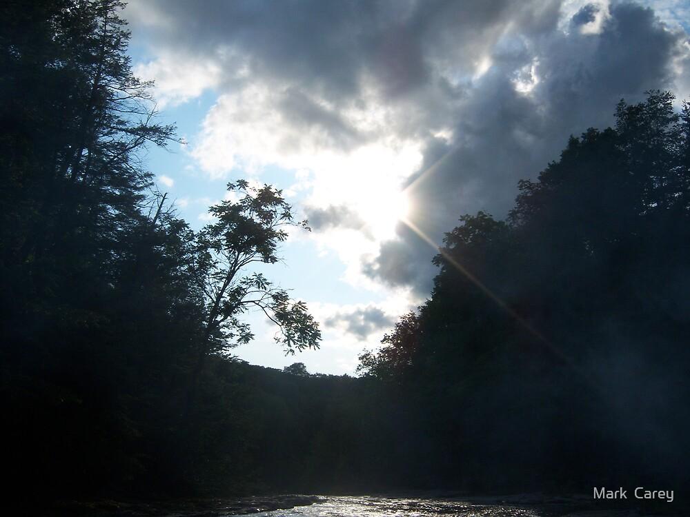 Heaven at dusk by Mark  Carey