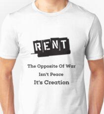Rent Creation T-Shirt
