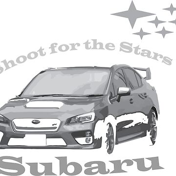 Subaru - Shoot for the Stars by GearShiftCo
