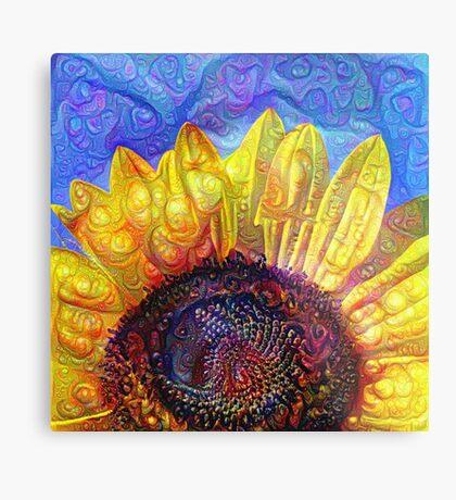 Solar eyelashes Metal Print