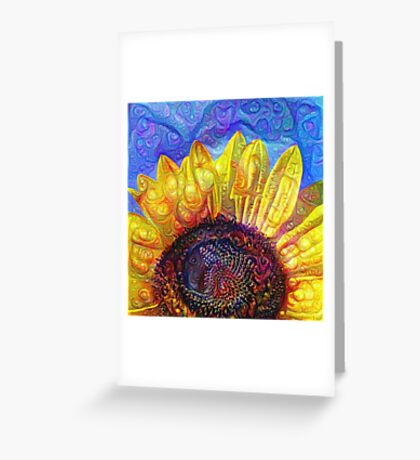 Solar eyelashes Greeting Card