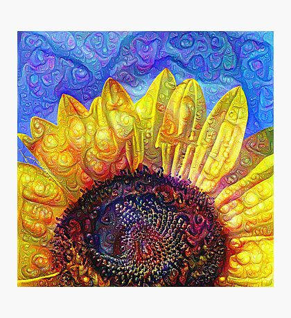 Solar eyelashes Photographic Print