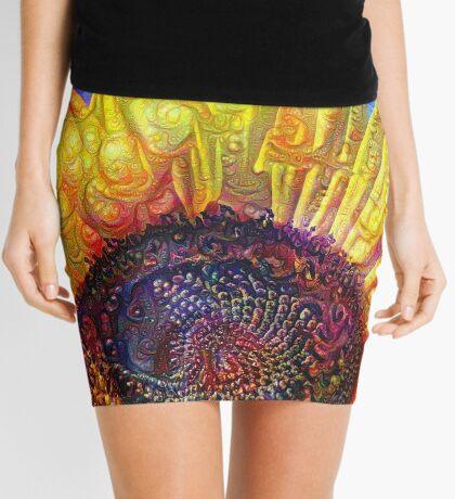 Solar eyelashes Mini Skirt